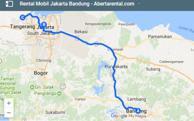 Harga Rental Mobil Jakarta Bandung