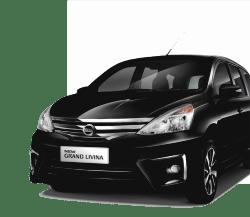 Harga rental mobil murah Grand Livina di Bandung