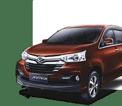 Harga rental mobil murah Great Xenia di Bandung