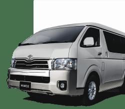 Harga sewa mobil murah Hiace di Bandung