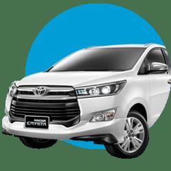 Rental mobil New Innova Reborn Bandung