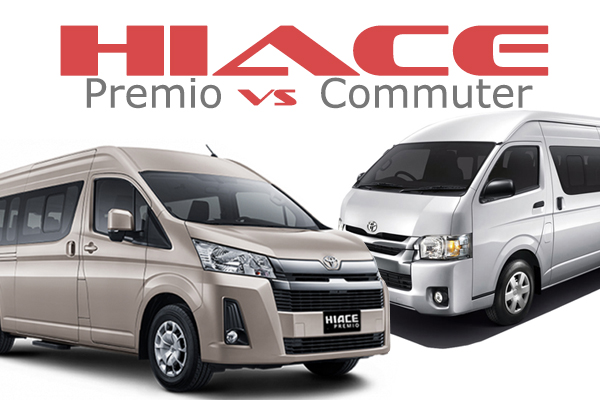 Hiace Premio vs Hiace Commuter